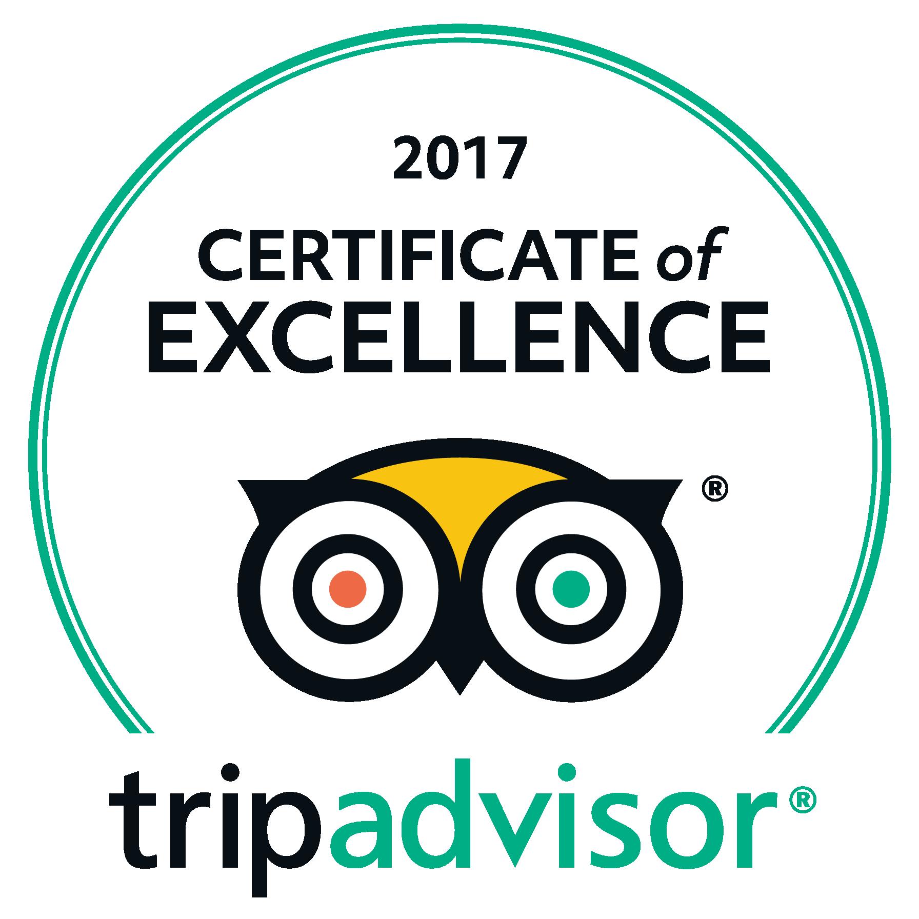 E-bike Winetours - TripAdvisor Certificate of Excellence 2017